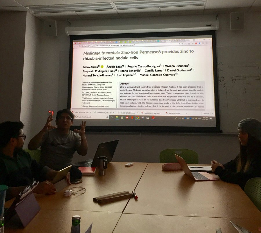 Preprint journal club at UMass